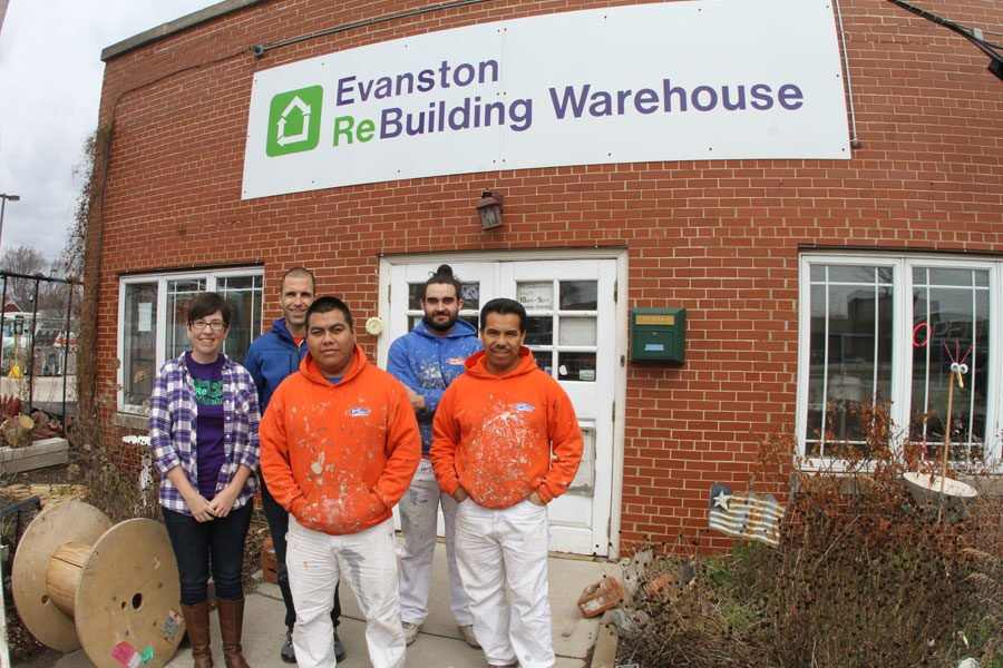 Evanston Rebuilding Warehouse painting