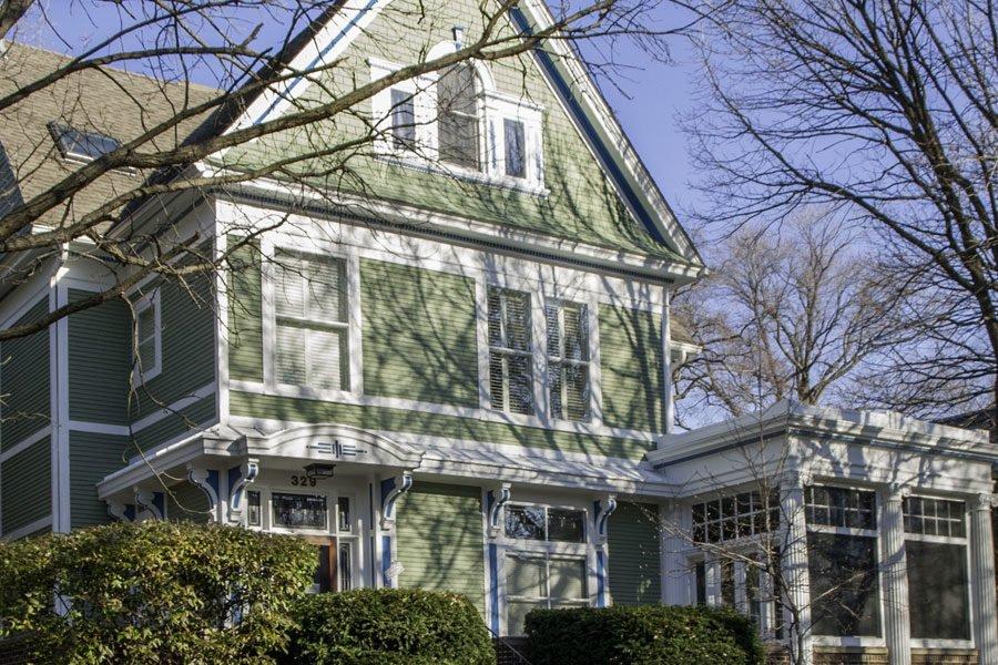 Evanston house painters