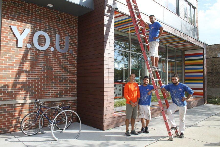 Y.O.U. community painting