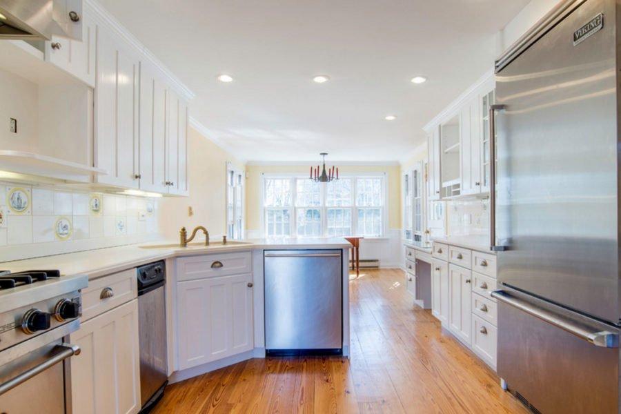 interior house painting kitchen sunroom