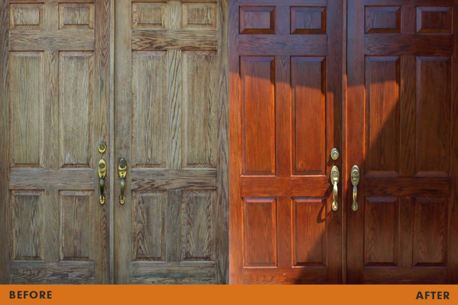 front door refinishing