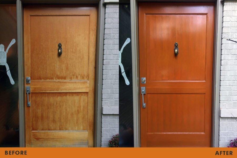 front door restoration