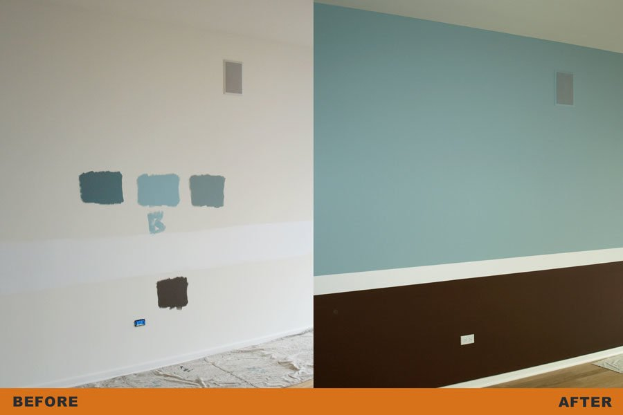 sampling wall colors