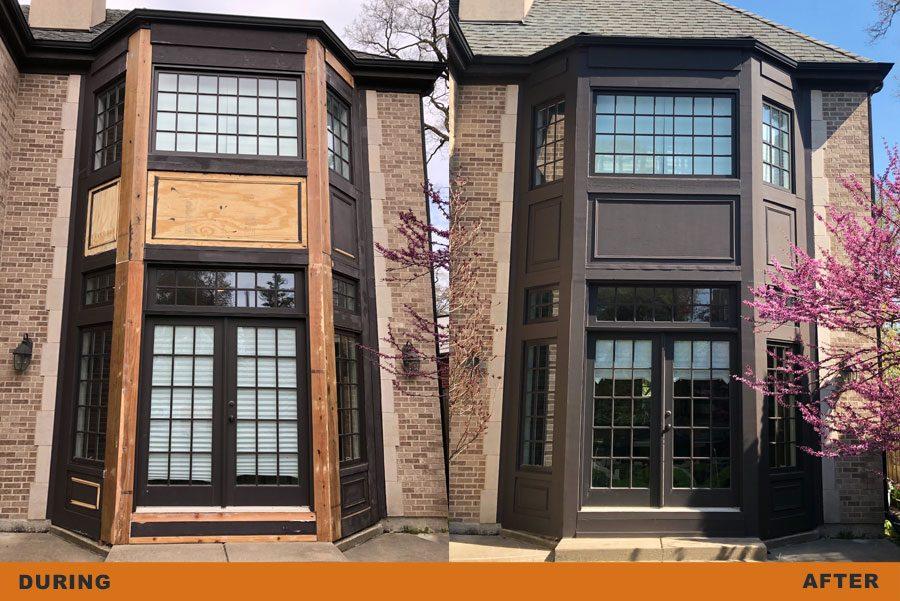 home exterior window restoration