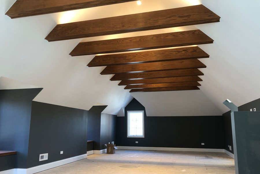 lofted ceiling painting